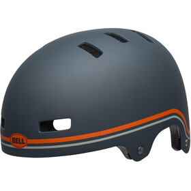 Bell Local Helmet classic matte slate/orange
